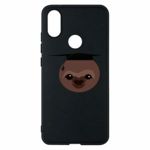 Phone case for Xiaomi Mi A2 Sloth student