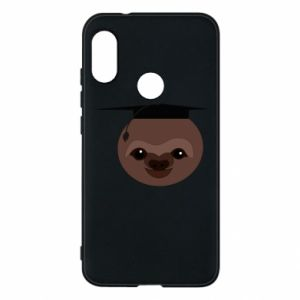 Phone case for Mi A2 Lite Sloth student