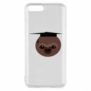 Phone case for Xiaomi Mi6 Sloth student