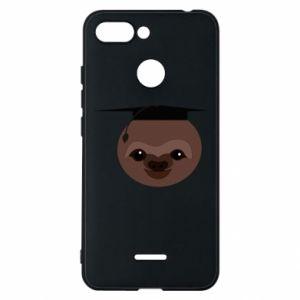 Phone case for Xiaomi Redmi 6 Sloth student