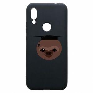 Phone case for Xiaomi Redmi 7 Sloth student