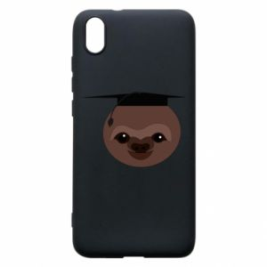 Phone case for Xiaomi Redmi 7A Sloth student