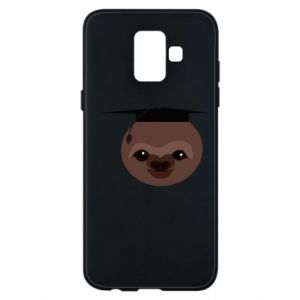 Phone case for Samsung A6 2018 Sloth student
