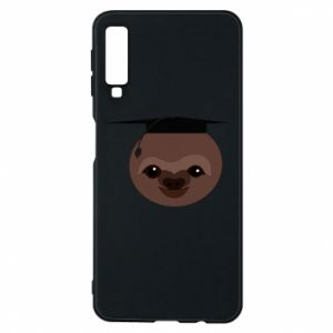 Phone case for Samsung A7 2018 Sloth student