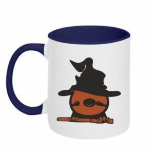 Kubek dwukolorowy Sloth in a hat