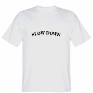 Koszulka męska Slow down