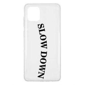 Etui na Samsung Note 10 Lite Slow down