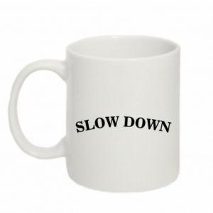 Kubek 330ml Slow down