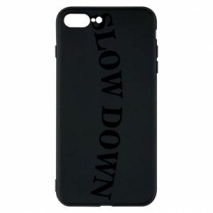 Etui na iPhone 8 Plus Slow down