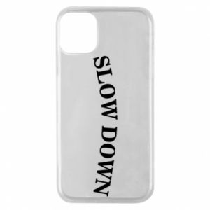 Etui na iPhone 11 Pro Slow down