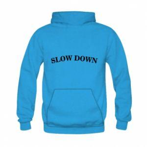 Bluza z kapturem dziecięca Slow down