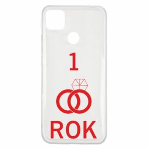 Etui na Xiaomi Redmi 9c Ślub 1 rok