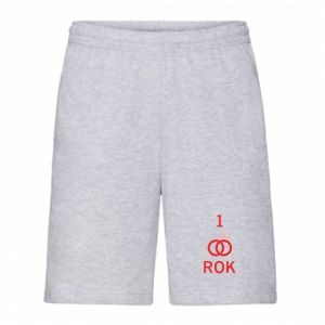 Men's shorts Wedding 1 year