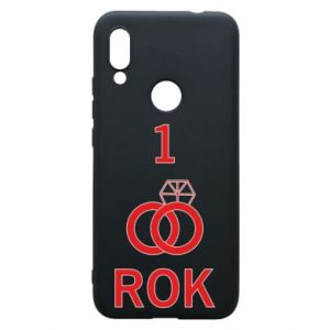 Phone case for Xiaomi Redmi 7 Wedding 1 year - PrintSalon