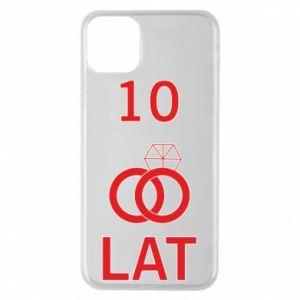 Etui na iPhone 11 Pro Max Ślub 10 lat