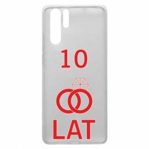 Etui na Huawei P30 Pro Ślub 10 lat