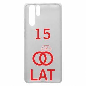Etui na Huawei P30 Pro Ślub 15 lat