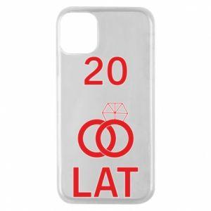 Etui na iPhone 11 Pro Ślub 20 lat