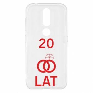 Etui na Nokia 4.2 Ślub 20 lat
