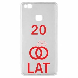 Etui na Huawei P9 Lite Ślub 20 lat