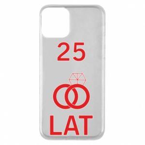 Phone case for iPhone 11 Wedding 25 years - PrintSalon