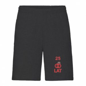 Men's shorts Wedding 25 years - PrintSalon
