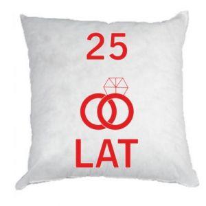 Pillow Wedding 25 years - PrintSalon