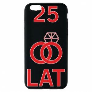 Phone case for iPhone 6/6S Wedding 25 years - PrintSalon