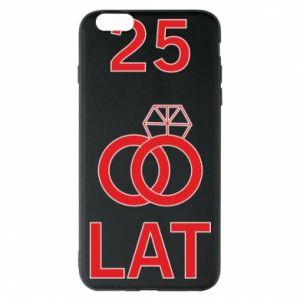 Phone case for iPhone 6 Plus/6S Plus Wedding 25 years - PrintSalon