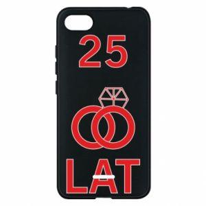 Phone case for Xiaomi Redmi 6A Wedding 25 years - PrintSalon
