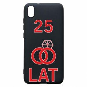 Phone case for Xiaomi Redmi 7A Wedding 25 years - PrintSalon