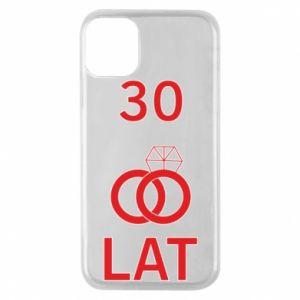 Etui na iPhone 11 Pro Ślub 30 lat