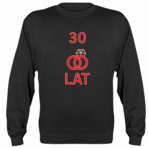 Sweatshirt Wedding 30 years - PrintSalon