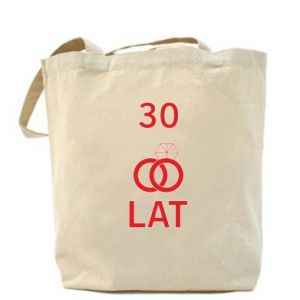 Bag Wedding 30 years - PrintSalon
