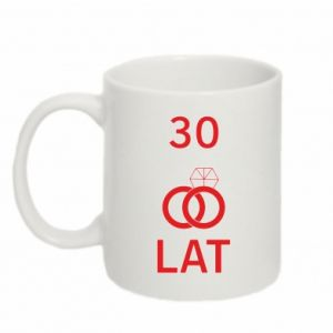 Mug 330ml Wedding 30 years - PrintSalon