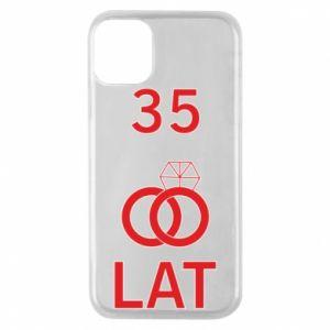 Etui na iPhone 11 Pro Ślub 35 lat