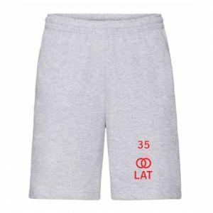 Men's shorts Wedding 35 years - PrintSalon