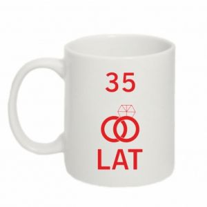 Mug 330ml Wedding 35 years - PrintSalon