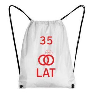 Backpack-bag Wedding 35 years - PrintSalon