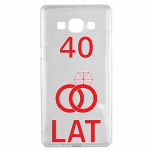 Etui na Samsung A5 2015 Ślub 40 lat