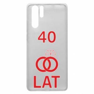Etui na Huawei P30 Pro Ślub 40 lat