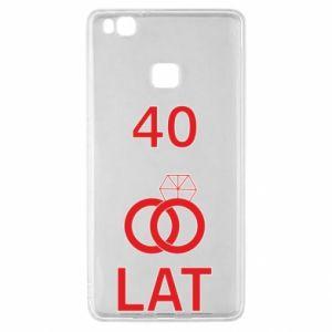 Etui na Huawei P9 Lite Ślub 40 lat