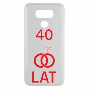 Etui na LG G6 Ślub 40 lat