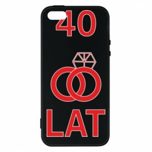 Phone case for iPhone 5/5S/SE Wedding 40 years - PrintSalon