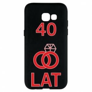 Phone case for Samsung A5 2017 Wedding 40 years - PrintSalon
