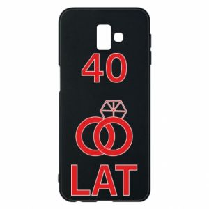 Phone case for Samsung J6 Plus 2018 Wedding 40 years