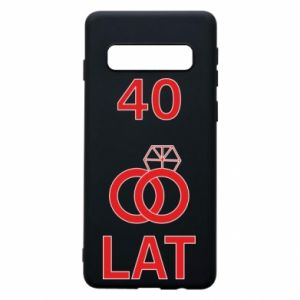 Phone case for Samsung S10 Wedding 40 years - PrintSalon
