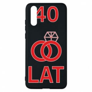 Phone case for Huawei P20 Wedding 40 years