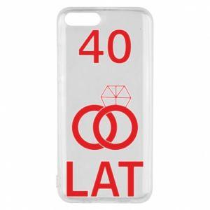 Etui na Xiaomi Mi6 Ślub 40 lat