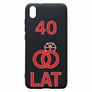 Phone case for Xiaomi Redmi 7A Wedding 40 years